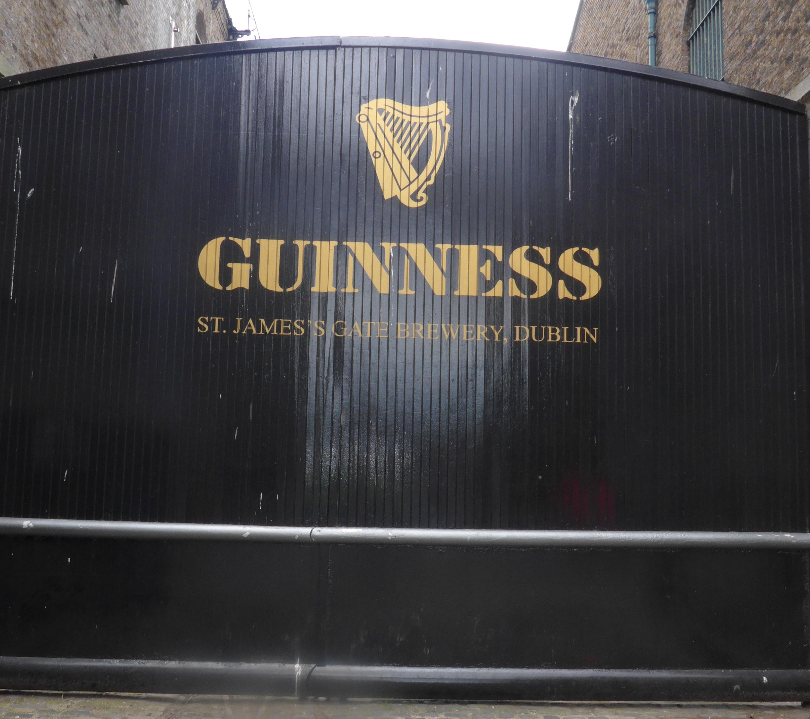 Guinness Side Gate